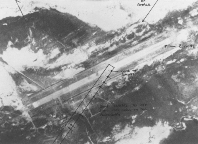 De resultaten van het bombardement
