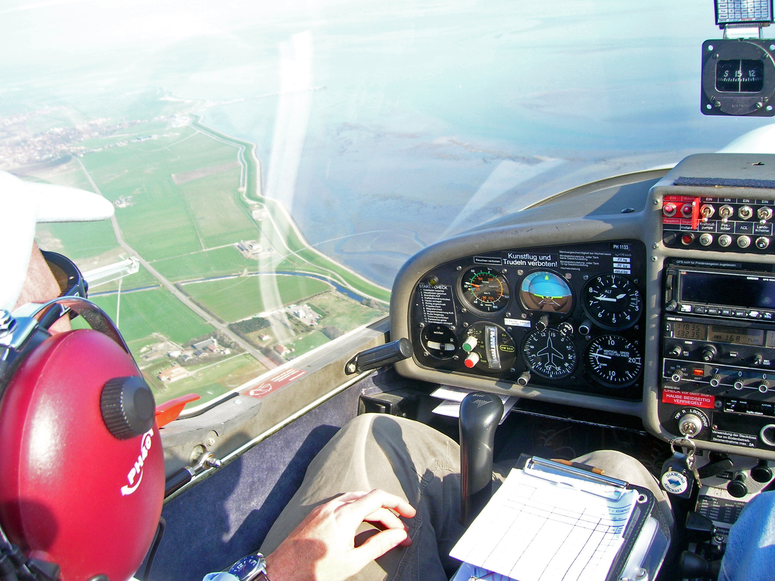 Ameland from cockpit2