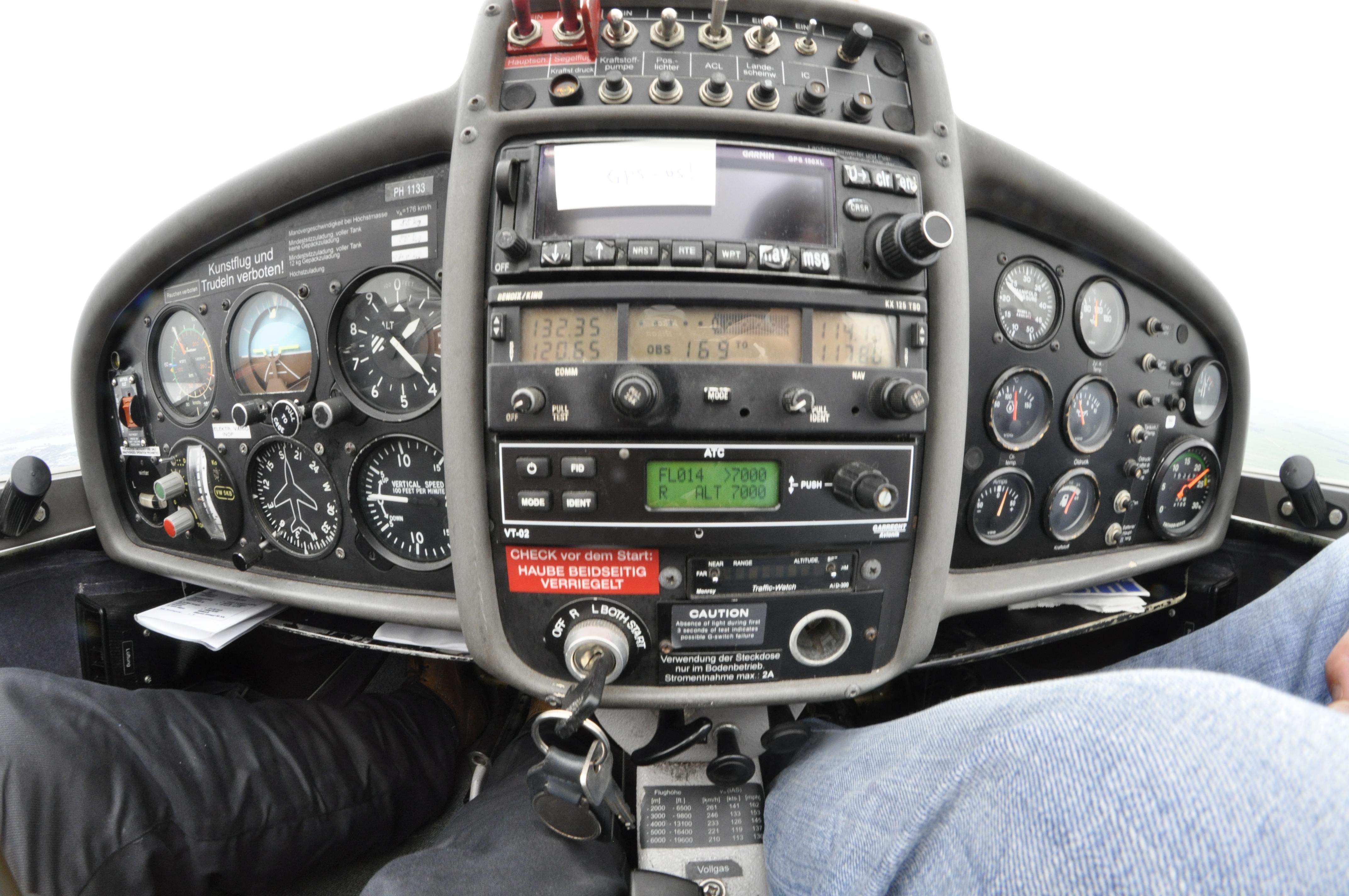 Fisheye Cockpit