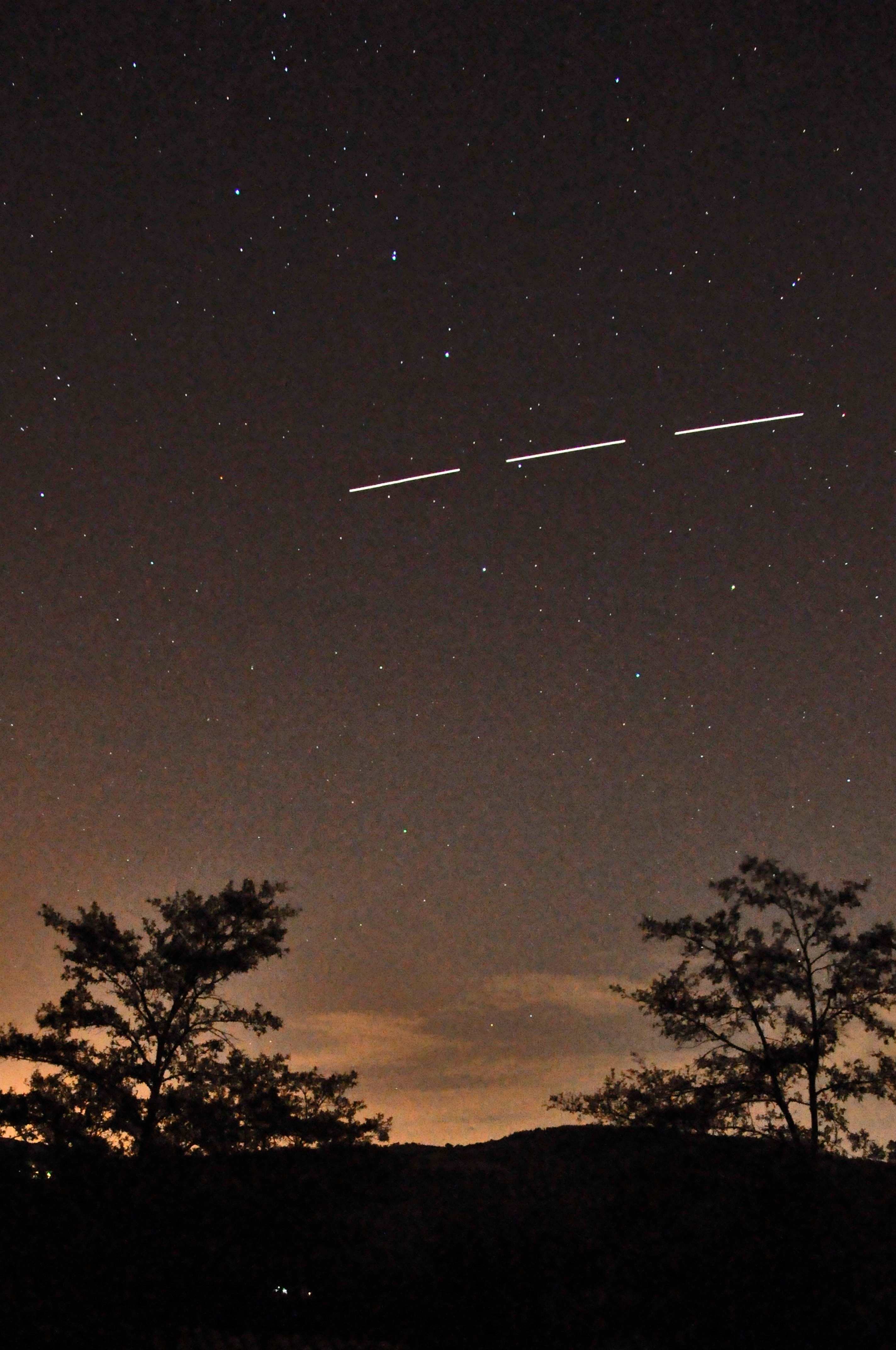 ISS Great bear 9th aug 2012 22.20hrs