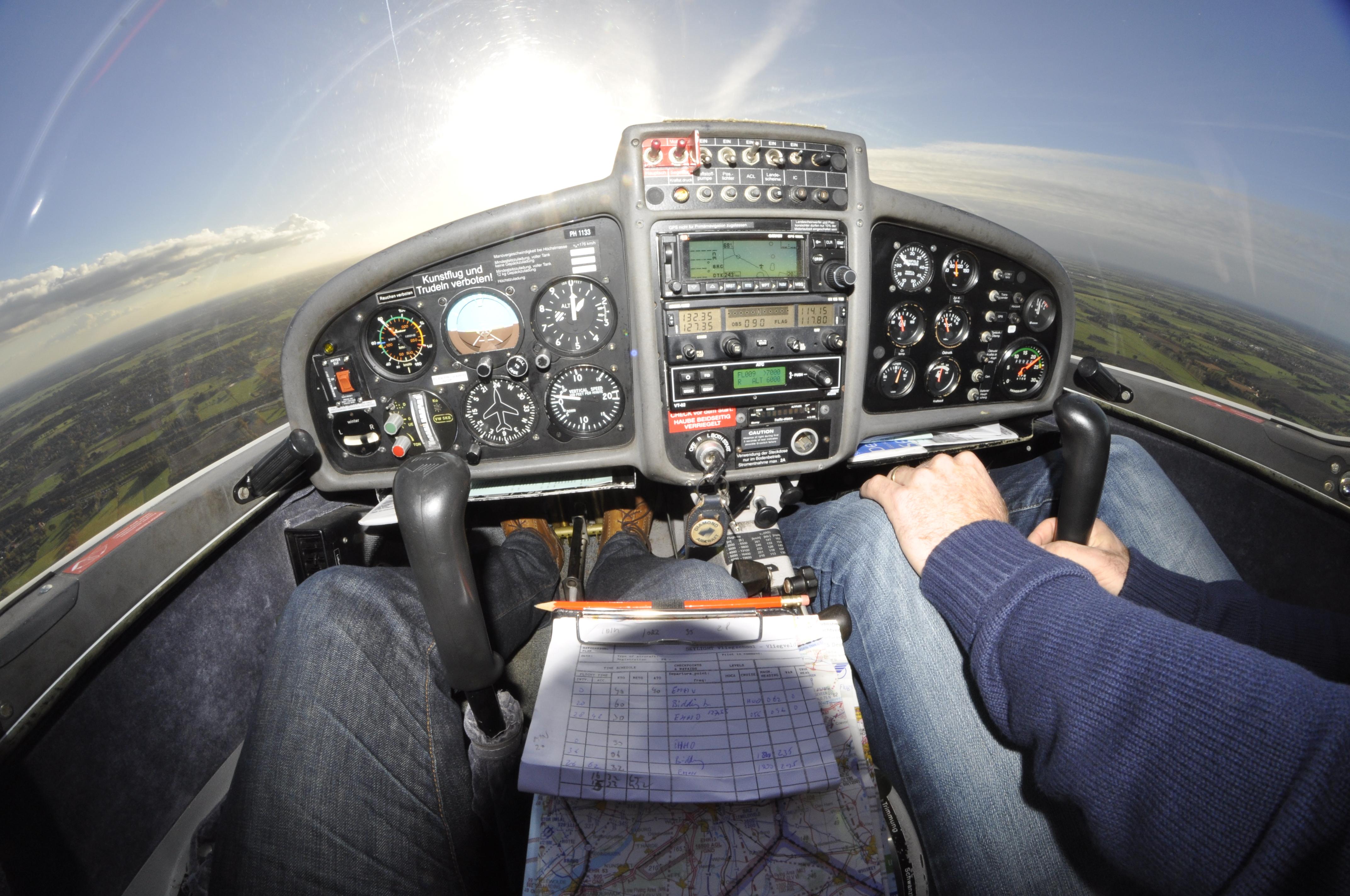 Cockpit fisheye
