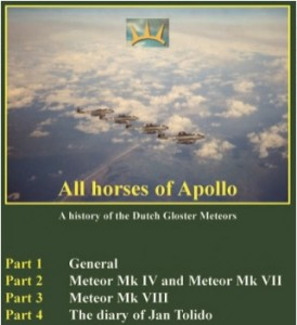 All horses of Apollo - A history of the Dutch Gloster Meteors