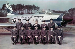 525th Bulldog Squadron, Germany, and Commander Pickron & staff