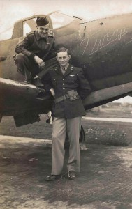 Bill Pickron and his P-39 in Iceland