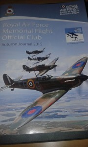 Autumn Journal 2015- RAF Memorial Flight Official Club